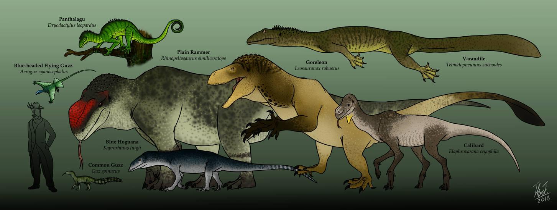 Therosauria : The Endothermic Lizard