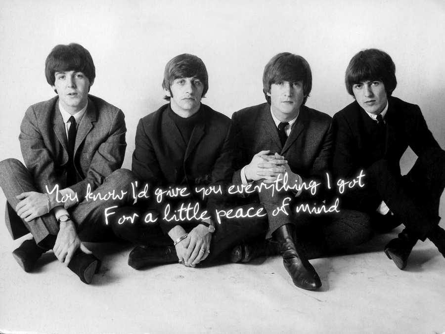 The Beatles Wallpaper By IfTheRainComes