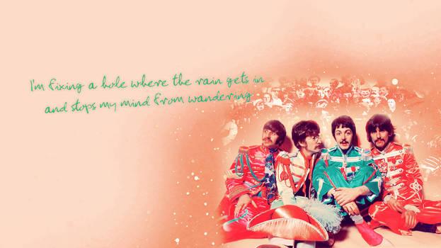 Beatles Sgt. Pepper Wallpaper