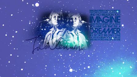 John Lennon Imagine Wallpaper