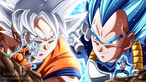 DBS: Goku VS Vegeta END