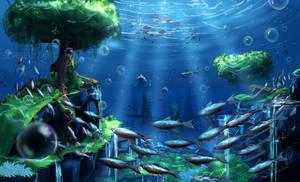Underwater world by Surgeon-Art