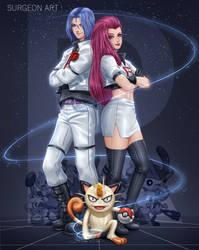 Team rocket by Surgeon-Art