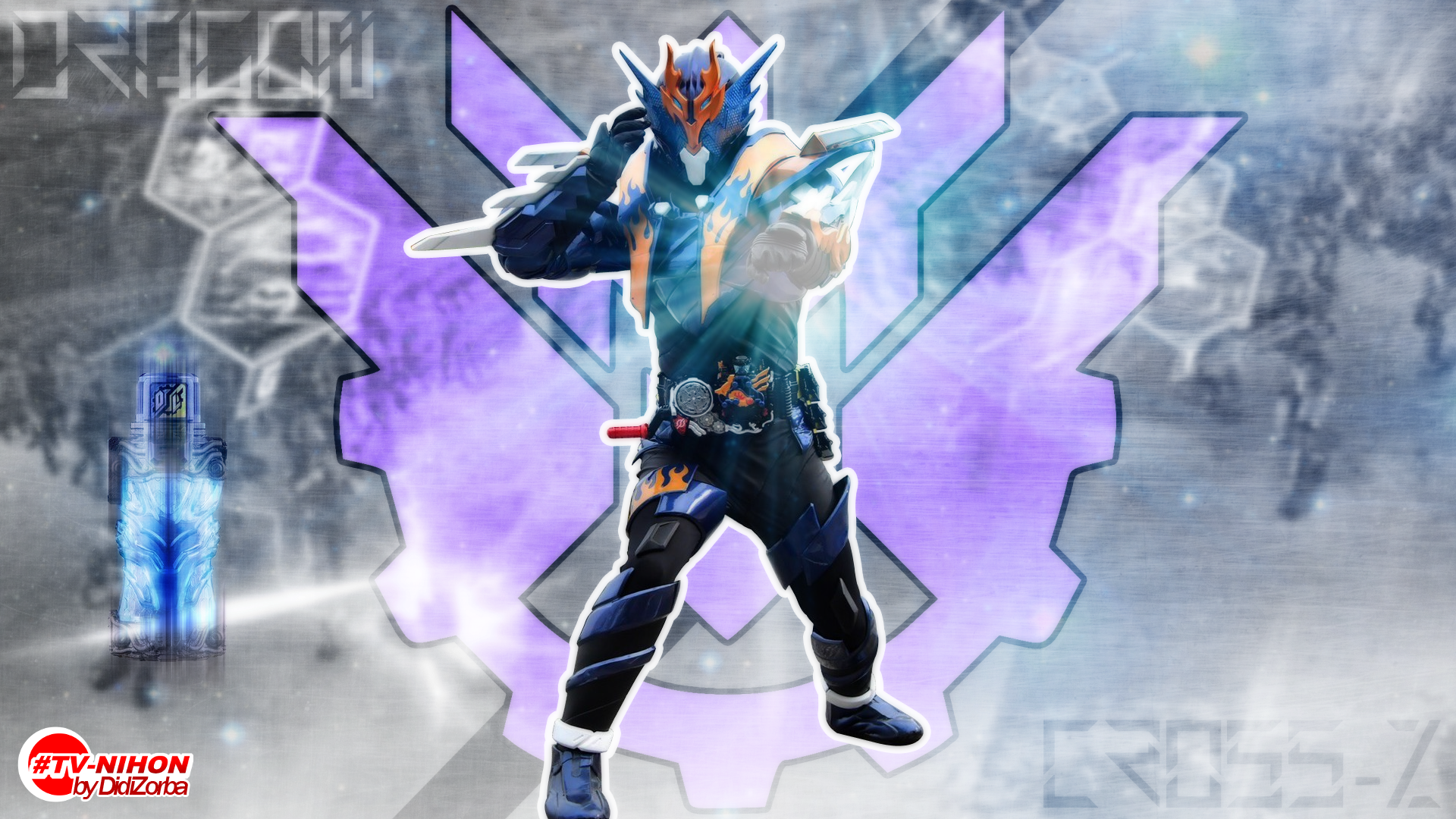 Kamen Rider Build Cross-Z TVNihon Splash by DidiZorbaII on