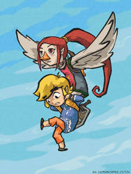 Infrequent Flyers: Medli, Link by paisley