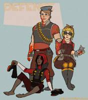TF2 Genderflips: Defense by paisley