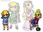 Link and Zelda: Incarnations