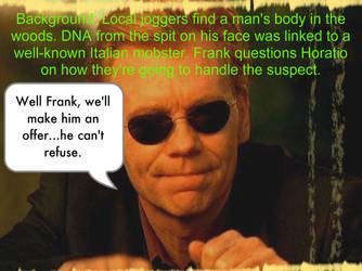 Horatio Caine One-Liner 6