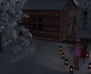 Yard sauna
