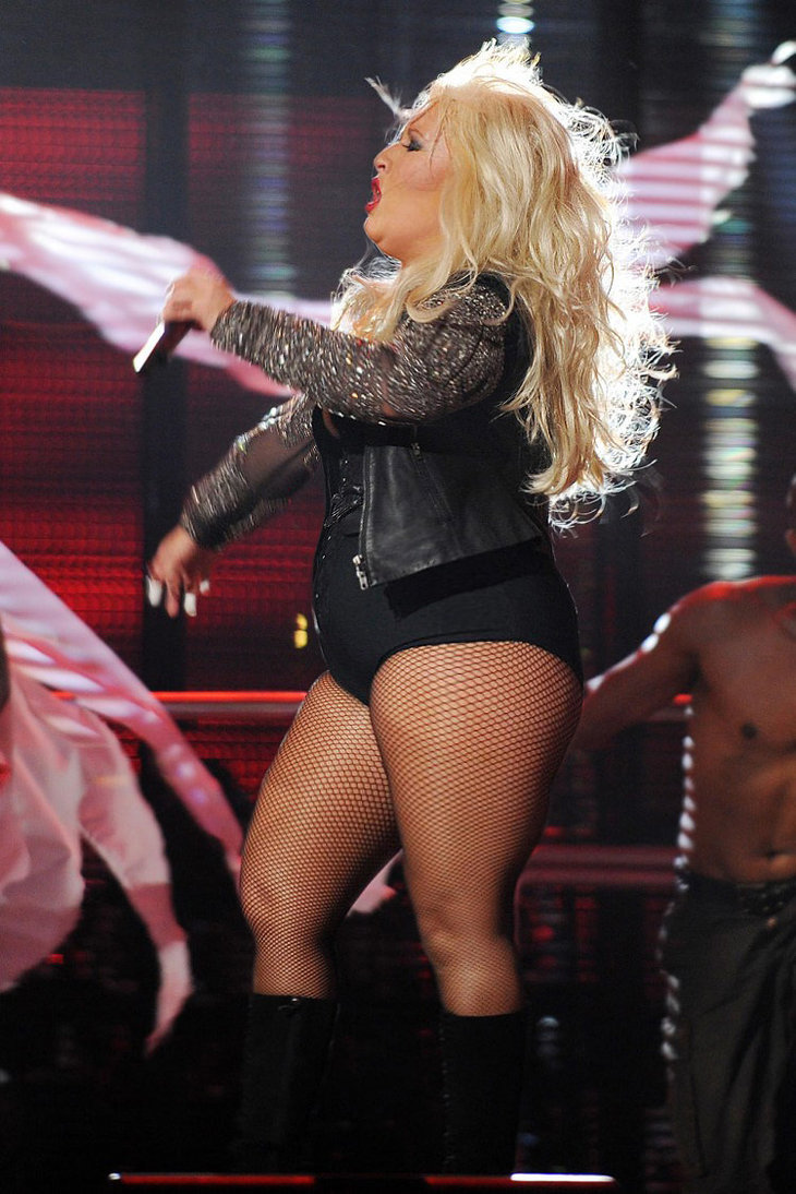Christina Aguilera by ... Christina Aguilera Weight