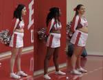 Sexy Cheerleader Team