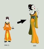 Geisha Redoll by LadyHazy