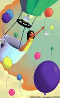 Chasing Dreams WIP by LadyHazy