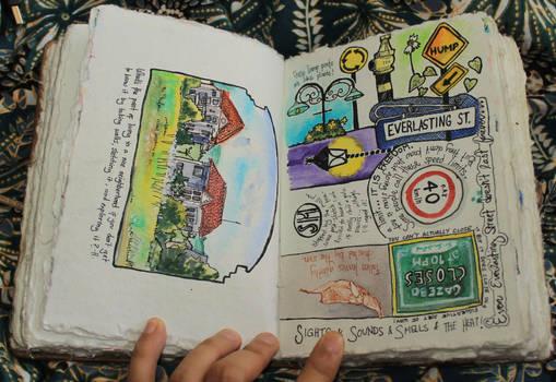 Urban Sketching: Signs