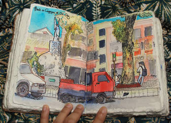 Urban Sketching: City