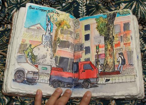 Urban Sketching: City