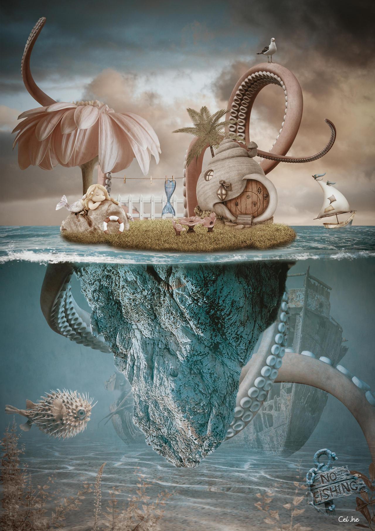 The island of mermaid