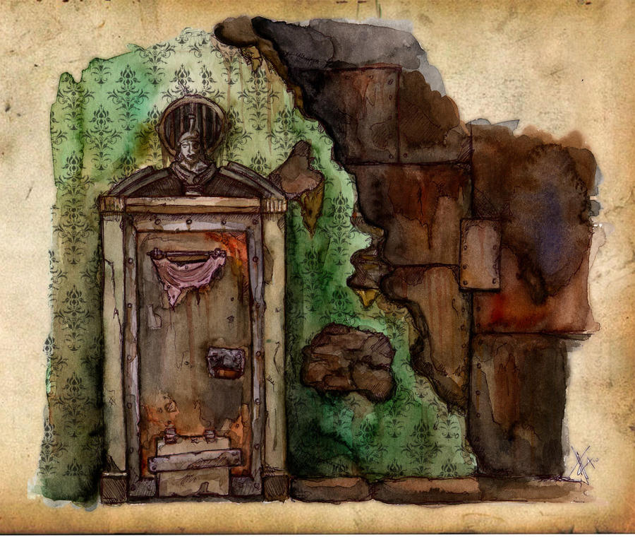 The door concept art by fallenangelomega on deviantart - Several artistic concepts for main door ...