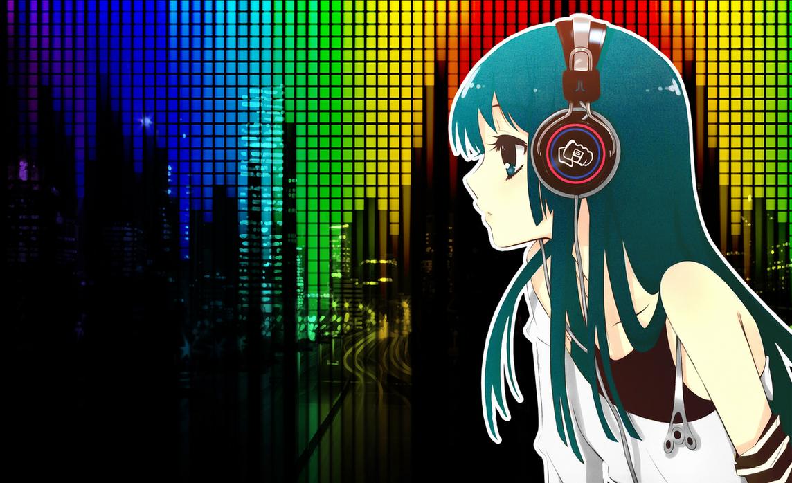 Anime music wallpaper by mrlolwoop on deviantart