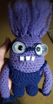 Crazy Purple Minion