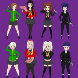 Persona Girls Old Age