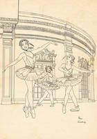 Ballet_lineart by ManuelaSoriani