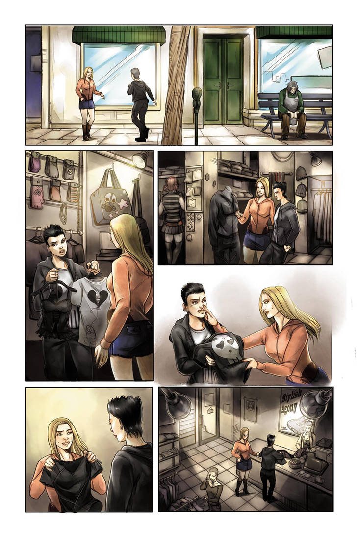 The Deathlings Page09 - color by ManuelaSoriani