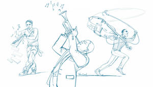 Musicians Character concepts