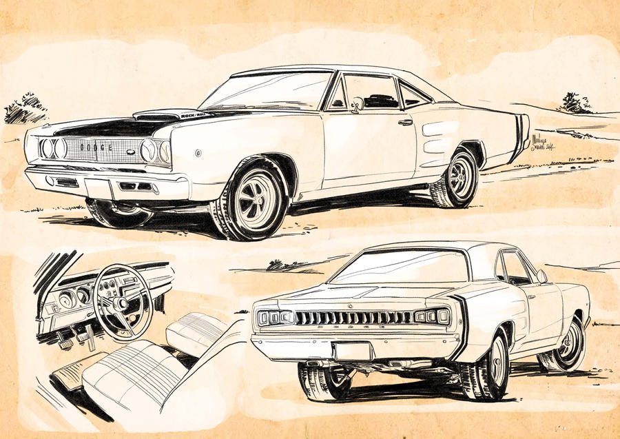 Muscle Car Concept Art By Manuelasoriani On Deviantart