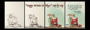 Happy Winter Holidays StepByStep