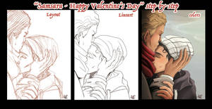 Happy Valentine's Card StepbyStep
