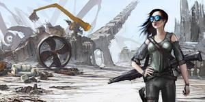 Wasteland Bard by rashomike