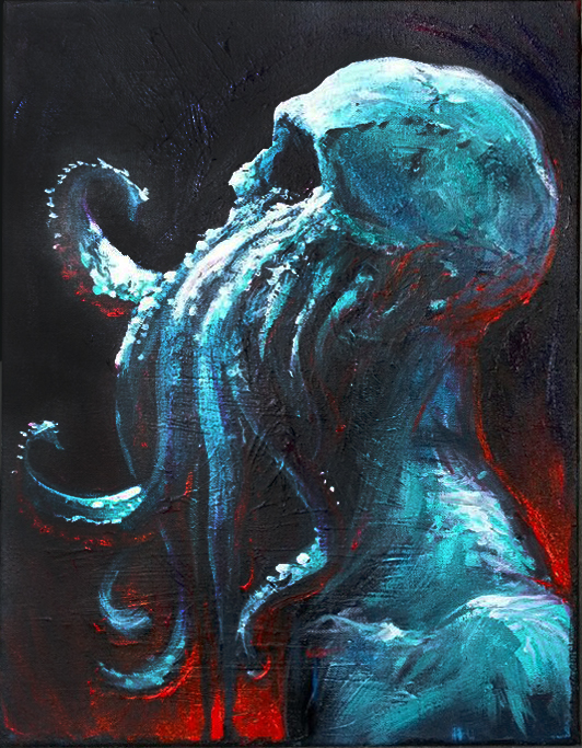 Cthulhu by rashomike