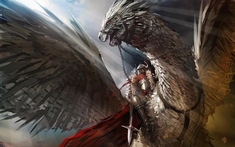 Kingly Beasts by rashomike