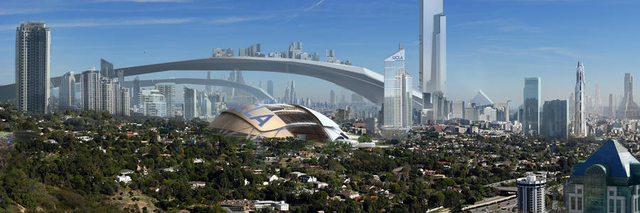Los angeles 2100 by rashomike on deviantart for Recycled building materials los angeles