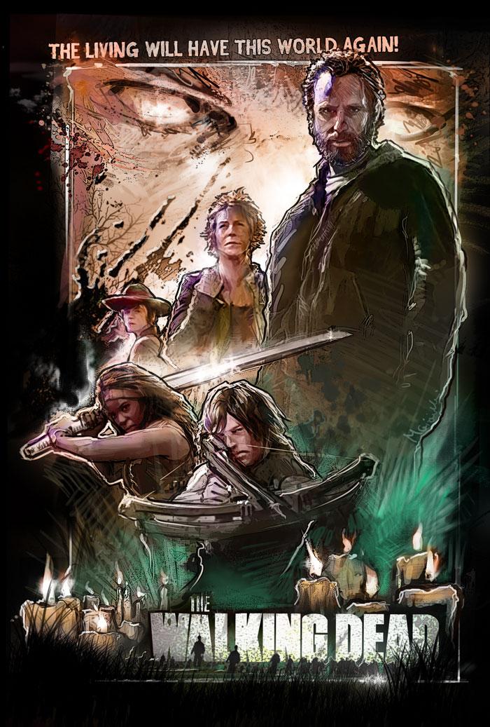 TWD poster by rashomike