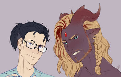 Trent and Andrus by Amayensis