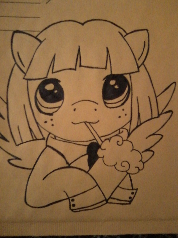 Mail Art 4: Tenor by ZenoahZero