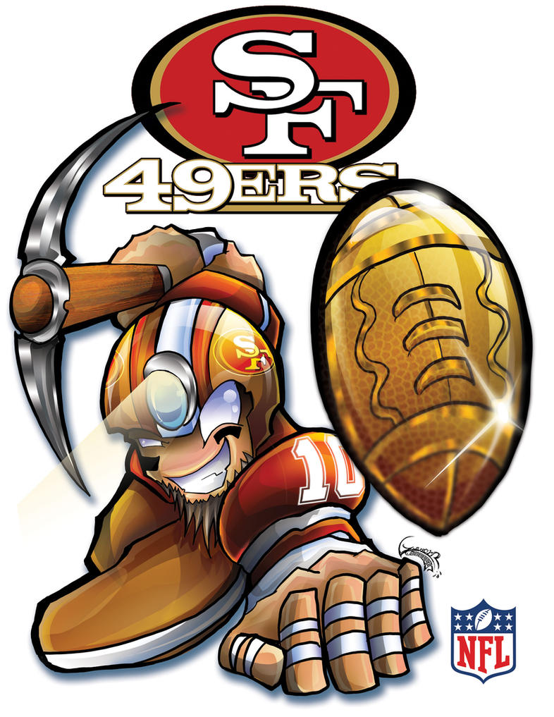 49ers by l guerrero on deviantart 49ers by l guerrero voltagebd Choice Image