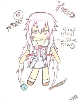Yuno The future Diary Chibi