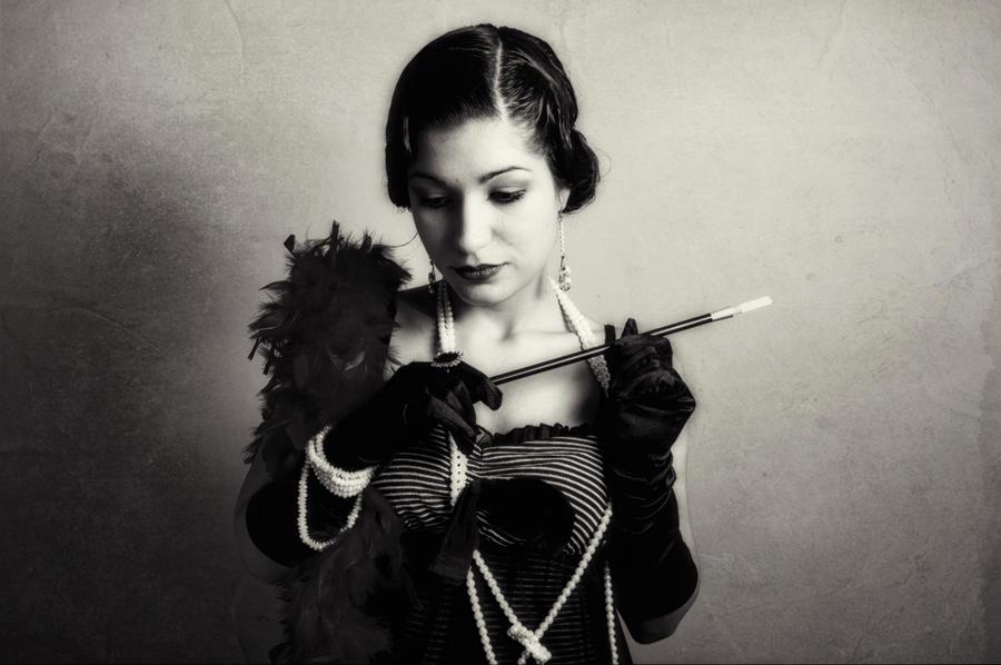 Mademoiselle by DarkJade21