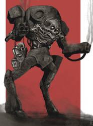 Evil machine by Prophetharm