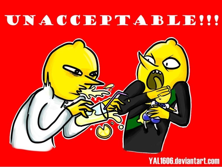 UNACCEPTABLE!!! by YAL1606