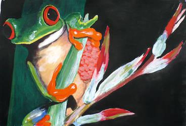 Frog by dreamsaddict