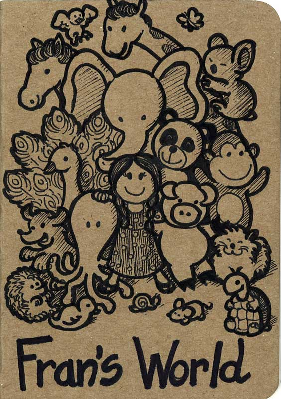 Sketch Book Cover : Sketchbook cover cute animals by dreamsaddict on deviantart