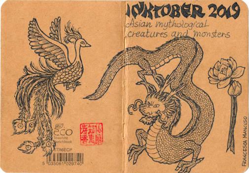 Inktober 2019 - Sketchbook Cover
