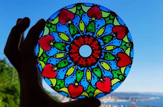 CD ART - Rose Window