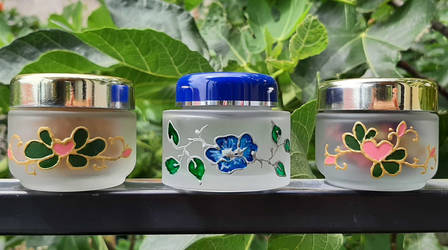 Glass decoration - Small Containers