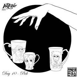 Inktober 2021 - Mugs and Cups - Day 10 - Pick