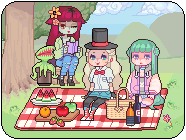 picnicking by dorkyfries